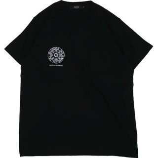 HEAVYWEIGHT SMALL MAGIC CIRCLE POCKET TEE (BLACK)