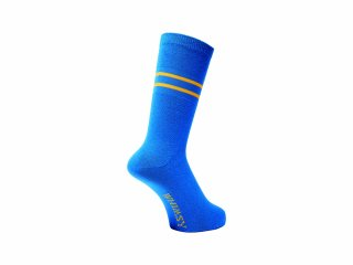 <img class='new_mark_img1' src='//img.shop-pro.jp/img/new/icons5.gif' style='border:none;display:inline;margin:0px;padding:0px;width:auto;' />WHIMSY  32/1 FRESH DELIVERY SOCKS(BLUE)