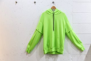 <img class='new_mark_img1' src='//img.shop-pro.jp/img/new/icons5.gif' style='border:none;display:inline;margin:0px;padding:0px;width:auto;' />Layered double sleeve parka(YELLOW)