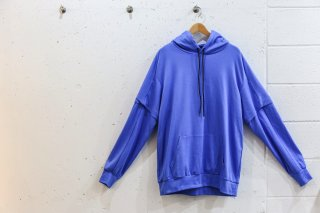 <img class='new_mark_img1' src='//img.shop-pro.jp/img/new/icons5.gif' style='border:none;display:inline;margin:0px;padding:0px;width:auto;' />Layered double sleeve parka(BLUE)