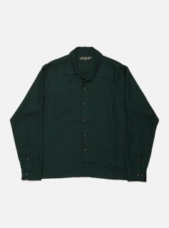 <img class='new_mark_img1' src='//img.shop-pro.jp/img/new/icons5.gif' style='border:none;display:inline;margin:0px;padding:0px;width:auto;' />RAYON LS SHIRT(DARK GREEN)