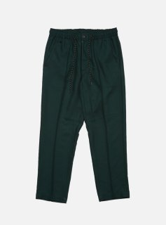 <img class='new_mark_img1' src='//img.shop-pro.jp/img/new/icons5.gif' style='border:none;display:inline;margin:0px;padding:0px;width:auto;' />ELASTIC WAIST POLY RAYON TROUSER(DARKGREEN)