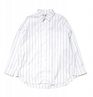 <img class='new_mark_img1' src='//img.shop-pro.jp/img/new/icons5.gif' style='border:none;display:inline;margin:0px;padding:0px;width:auto;' />Big Stripe Shirt(NAVY ST)