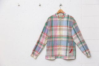 <img class='new_mark_img1' src='//img.shop-pro.jp/img/new/icons5.gif' style='border:none;display:inline;margin:0px;padding:0px;width:auto;' />NIGHT SHIRT PLAID(サックスラージチェック)