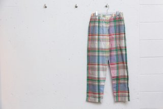 <img class='new_mark_img1' src='//img.shop-pro.jp/img/new/icons5.gif' style='border:none;display:inline;margin:0px;padding:0px;width:auto;' />NIGHT PANTS PLAID(サックスラージチェック)