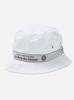 <img class='new_mark_img1' src='//img.shop-pro.jp/img/new/icons5.gif' style='border:none;display:inline;margin:0px;padding:0px;width:auto;' />TAPING BUCKET HAT(WHITE)