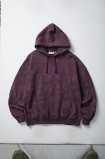 <img class='new_mark_img1' src='//img.shop-pro.jp/img/new/icons5.gif' style='border:none;display:inline;margin:0px;padding:0px;width:auto;' />TATTOO FLASH HOODIE(BURGUNDY)