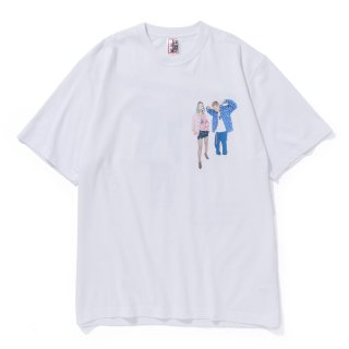 <img class='new_mark_img1' src='//img.shop-pro.jp/img/new/icons5.gif' style='border:none;display:inline;margin:0px;padding:0px;width:auto;' />YURUFUWA GANG TEE(WHITE)