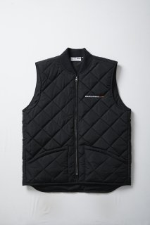 <img class='new_mark_img1' src='//img.shop-pro.jp/img/new/icons5.gif' style='border:none;display:inline;margin:0px;padding:0px;width:auto;' />STREET DREAMS QUILTING VEST(BLACK)