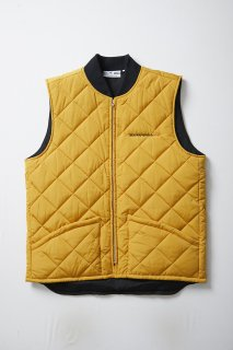 <img class='new_mark_img1' src='//img.shop-pro.jp/img/new/icons5.gif' style='border:none;display:inline;margin:0px;padding:0px;width:auto;' />STREET DREAMS QUILTING VEST(MUSTARD)