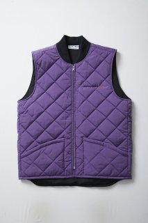 <img class='new_mark_img1' src='//img.shop-pro.jp/img/new/icons5.gif' style='border:none;display:inline;margin:0px;padding:0px;width:auto;' />STREET DREAMS QUILTING VEST(PURPLE)