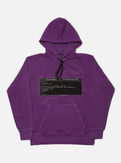 <img class='new_mark_img1' src='//img.shop-pro.jp/img/new/icons5.gif' style='border:none;display:inline;margin:0px;padding:0px;width:auto;' />MUSICAL SCORE HOODIE(PURPLE)