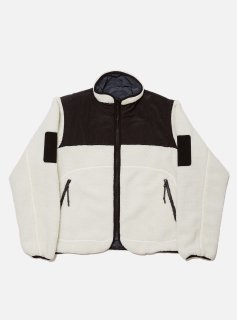 <img class='new_mark_img1' src='//img.shop-pro.jp/img/new/icons5.gif' style='border:none;display:inline;margin:0px;padding:0px;width:auto;' />SHELPA FLEECE REVERSIBLE JACKET(WHITE)