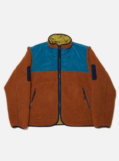 <img class='new_mark_img1' src='//img.shop-pro.jp/img/new/icons5.gif' style='border:none;display:inline;margin:0px;padding:0px;width:auto;' />SHELPA FLEECE REVERSIBLE JACKET(CAMEL)
