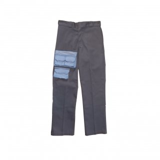 <img class='new_mark_img1' src='//img.shop-pro.jp/img/new/icons5.gif' style='border:none;display:inline;margin:0px;padding:0px;width:auto;' />FRONT POCKETS PANTS(GREY)