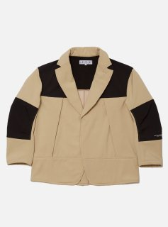 <img class='new_mark_img1' src='//img.shop-pro.jp/img/new/icons5.gif' style='border:none;display:inline;margin:0px;padding:0px;width:auto;' />BAL / BURLAP OUTFITTER WIND PROTECT FLEECE BLAZER(BEIGE)