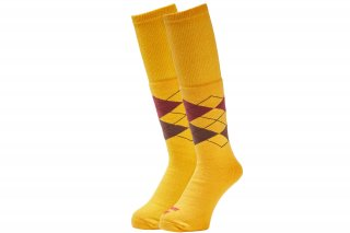<img class='new_mark_img1' src='//img.shop-pro.jp/img/new/icons5.gif' style='border:none;display:inline;margin:0px;padding:0px;width:auto;' />TUBE ARGAYLE SOCKS(YELLOW)