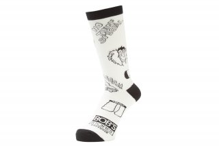 <img class='new_mark_img1' src='//img.shop-pro.jp/img/new/icons5.gif' style='border:none;display:inline;margin:0px;padding:0px;width:auto;' />NOTHIN'SPECIAL X WHIMSY / WEST SIDE STORY SOCKS(WHITE)