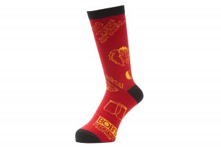 <img class='new_mark_img1' src='//img.shop-pro.jp/img/new/icons5.gif' style='border:none;display:inline;margin:0px;padding:0px;width:auto;' />NOTHIN'SPECIAL X WHIMSY / WEST SIDE STORY SOCKS(RED)