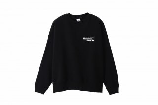 <img class='new_mark_img1' src='//img.shop-pro.jp/img/new/icons5.gif' style='border:none;display:inline;margin:0px;padding:0px;width:auto;' />LOGO CREW NECK SWEAT(BLACK)