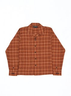 <img class='new_mark_img1' src='//img.shop-pro.jp/img/new/icons5.gif' style='border:none;display:inline;margin:0px;padding:0px;width:auto;' />PLAID LS SHIRT(ORANGE)