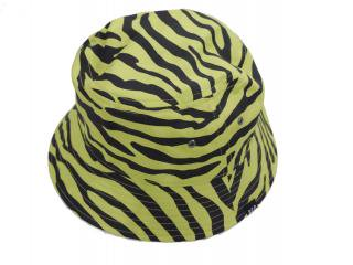 Zebra Hat(LIME GREEN) -BLACK EYE PATCH- 14AW
