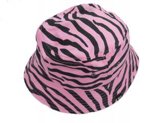 Zebra Hat(PINK) -BLACK EYE PATCH- 14AW