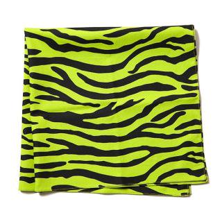 Zebra Bandana(LIME GREEN) -BLACK EYE PATCH- 14AW