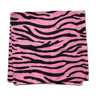 Zebra Bandana(PINK) -BLACK EYE PATCH- 14AW