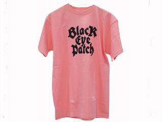 EMBLEM TEE(S.PINK) -BLACK EYE PATCH- 14AW