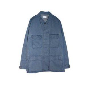 BATTLE DRESS JACKET(LIGHT INDIGO) -FORTYFOUR- 15SS