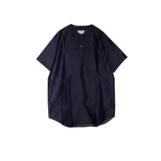 <img class='new_mark_img1' src='//img.shop-pro.jp/img/new/icons50.gif' style='border:none;display:inline;margin:0px;padding:0px;width:auto;' />DRESS BB SHIRT(INDIGO) -FORTYFOUR- 15SS