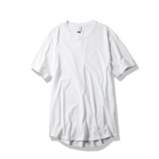"ROUND TAIL TEE ""EVIL""(WHITE) -MAGIC STICK- 15SS"