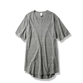 "ROUND TAIL TEE ""EVIL""(GRAY) -MAGIC STICK- 15SS"