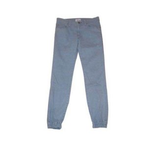 <img class='new_mark_img1' src='//img.shop-pro.jp/img/new/icons50.gif' style='border:none;display:inline;margin:0px;padding:0px;width:auto;' />DENIM JOGGER PANTS(LIGHT INDIGO) -FORTYFOUR- 15SS