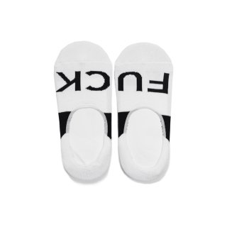NO SHOW FUCK SOCKS(WHITE) -MAGIC STICK- 15SS