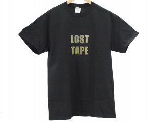LOST TAPE S/S TEE(BLACK) -TR.4 SUSPENSION-
