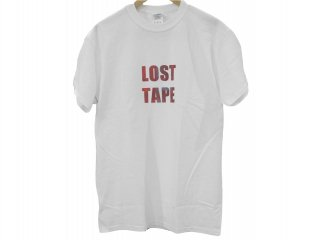 LOST TAPE S/S TEE(WHITE) -TR.4 SUSPENSION-