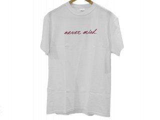 """KC never mind.""S/S Tee(WHITE) -TR.4 SUSPENSION-"