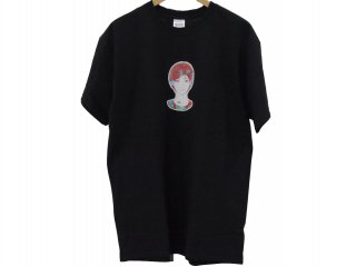 """KYNE GIRL""  S/S Tee(BLACK) -TR.4 SUSPENSION-"