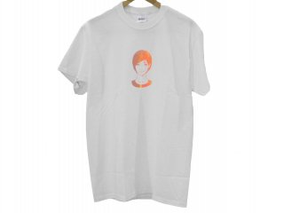 """KYNE GIRL""  S/S Tee(WHITE) -TR.4 SUSPENSION-"