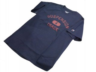 """collage"" S/S Tee(NAVY) -TR.4 SUSPENSION-"