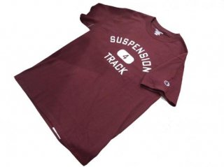 """collage"" S/S Tee(BURGUNDY) -TR.4 SUSPENSION-"