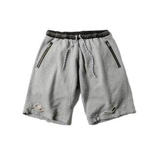 <img class='new_mark_img1' src='//img.shop-pro.jp/img/new/icons50.gif' style='border:none;display:inline;margin:0px;padding:0px;width:auto;' />DAMAGED CHILLIN SHORTS(GRAY) -MAGIC STICK- 15FW