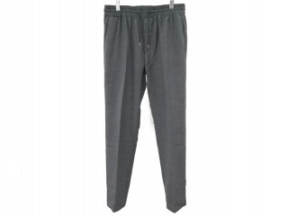 Tropical wool easy pants(GREY) -GOFUKUSAY- 15SS
