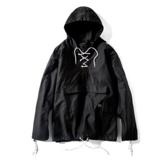 LACE UP MIL HOOD LEIA(BLACK) -MAGIC STICK- 15FW