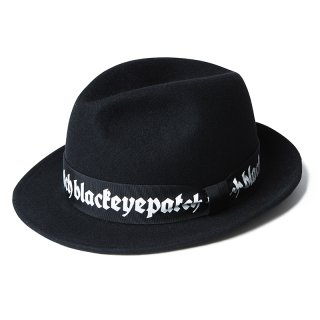 LOGO WOOL HAT(BLACK) -BLACK EYE PATCH- 15FW