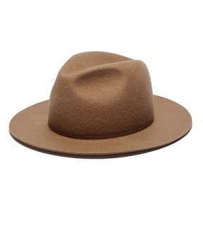 <img class='new_mark_img1' src='//img.shop-pro.jp/img/new/icons50.gif' style='border:none;display:inline;margin:0px;padding:0px;width:auto;' />LONG BRIM FELT WOOL HAT(CAMEL) -BAL- 15FW