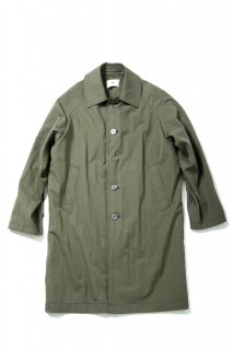 COTTON NYLON SOUTIEN COLLAR COAT(KHAKI) -SOE- 16SS