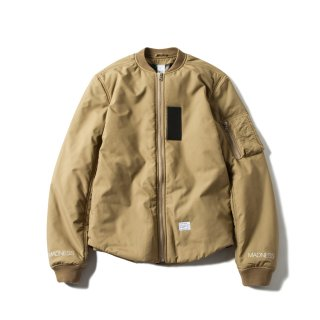 LIGHT WAIGHT RUFF BOMBER(OLIVE) -MAGIC STICK- 16S/S